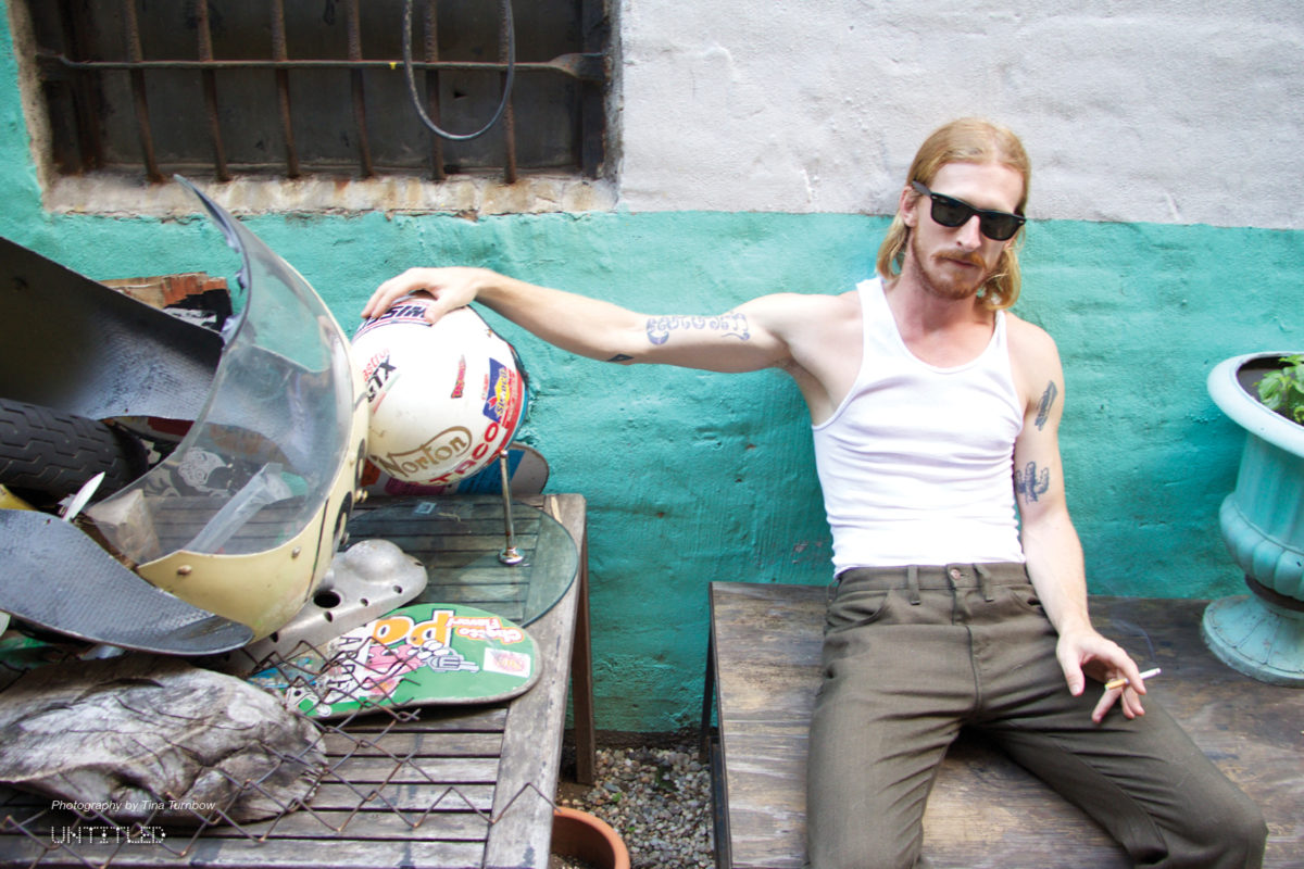 Austin Amelio photographed by Tina Turnbow for The Untitled Magazine.