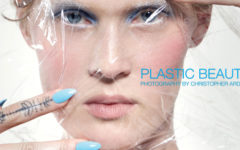 Plastic Beauty - The Untitled Magazine - Photography by Christopher Ardell, Beauty Editor Riku Campo