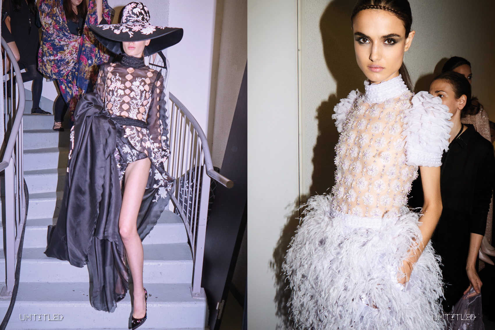 Ralph & Russo - The Untiled Magazine - Photography by Iris Bosch