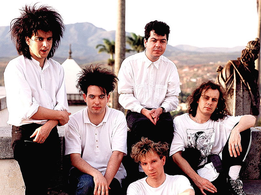 The Cure in 1987. Image courtesy of Michael Putland/Getty.