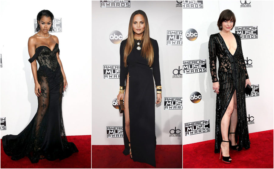 Black Dresses of 2016 AMAs