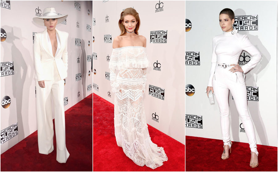 White Outfits on the 2016 AMAs Red Carpet