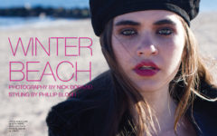 Winter Beach Fashion Editorial Exclusive - November 2016