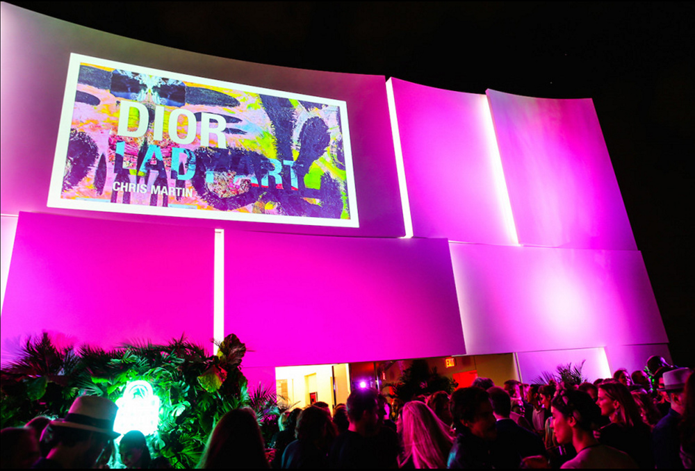 'Dior Lady Art' launches in Miami, image courtesy of BFA.