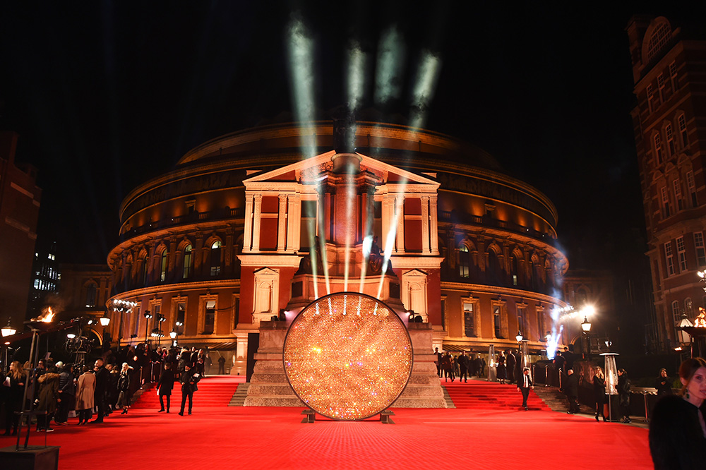 LONDON, ENGLAND - DECEMBER 05: A general view of the atmosphere at The Fashion Awards 2016 at Royal Albert Hall on December 5, 2016 in London, United Kingdom. Pic Credit: Dave Benett