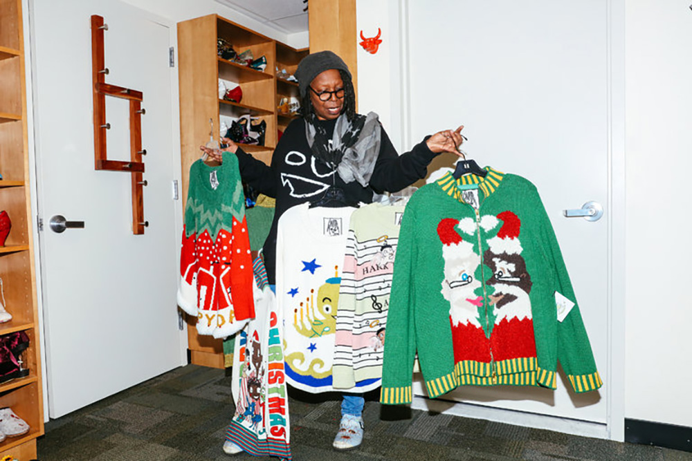 whoopi-goldberg-ugly-christmas-sweater-collection