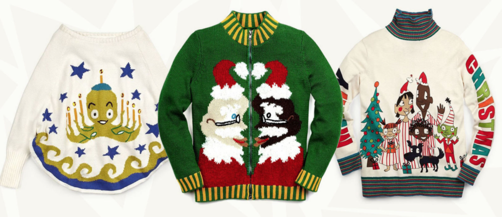 Holiday Fashion Fix The Ugly Sweater For A Cause The Untitled