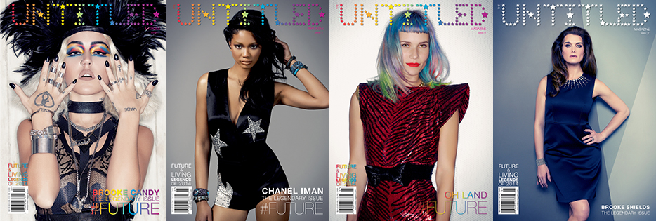 The Untitled Magazine Covers