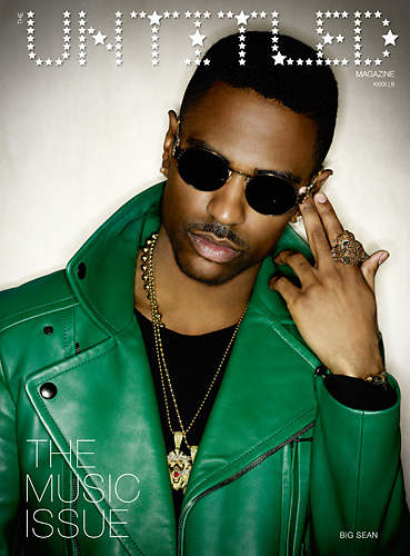 The Untitled Magazine - Big Sean - Music Issue 6