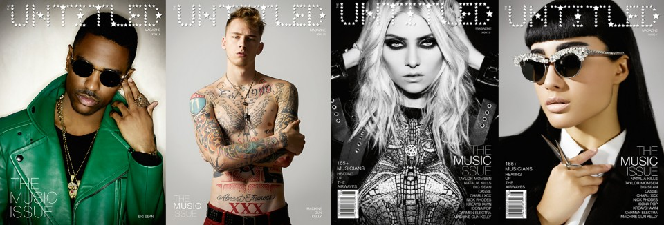 The Music Issue 6 - Covers