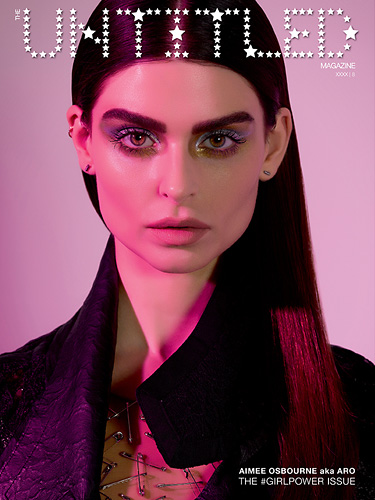 Aimee Osbourne Cover - The Untitled Magazine GirlPower Issue 8 - Photography by Indira Cesarine