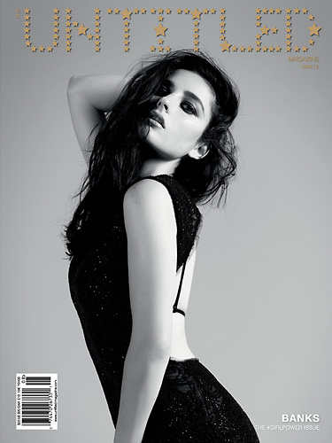 Banks Cover - The Untitled Magazine GirlPower Issue 8 - Photography by Indira Cesarine