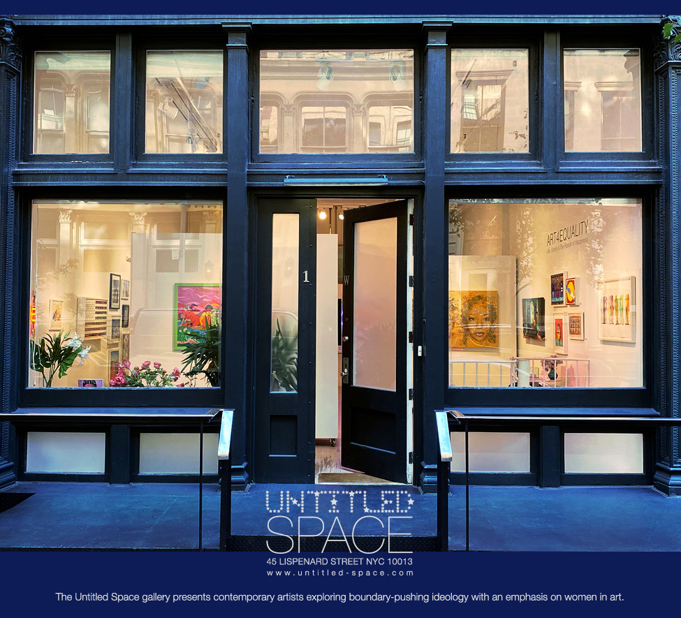The Untitled Space gallery, Tribeca NYC